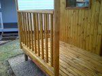 Wendy HOUSE KNOTTY PINE RAILING